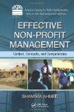 Effective Non-Profit Management   2012 edition cover