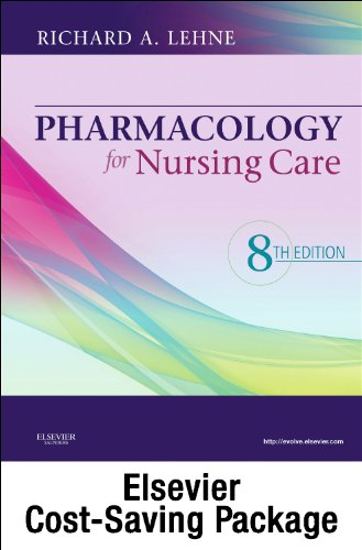 Pharmacology Online for Pharmacology for Nursing Care (User Guide, Access Code and Textbook Package)  8th edition cover
