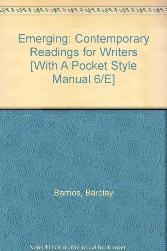 Emerging 2e and a Pocket Style Manual 6e  2nd edition cover