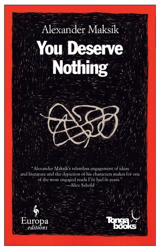 You Deserve Nothing  N/A edition cover