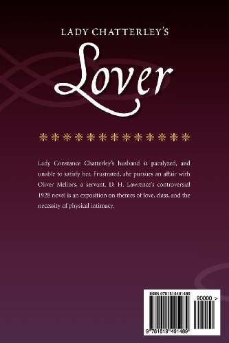 Lady Chatterley's Lover  N/A edition cover