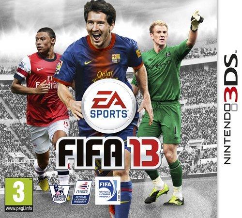 FIFA 13 (Nintendo 3DS) Nintendo 3DS artwork