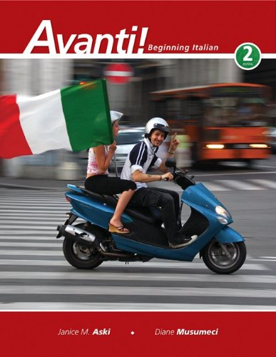 Avanti! Beginning Italian 2nd 2010 edition cover