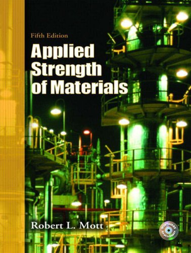 Applied Strength of Materials  5th 2008 edition cover