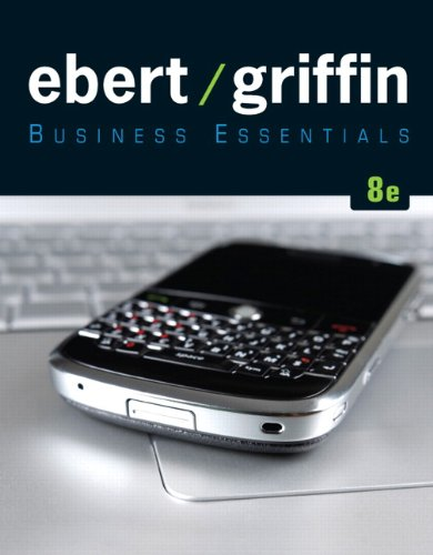 Business Essentials  8th 2011 edition cover