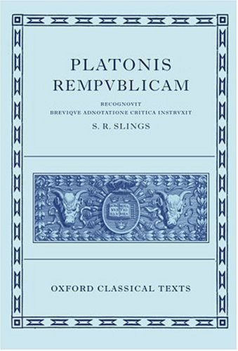 Platonis Respublica   2003 edition cover