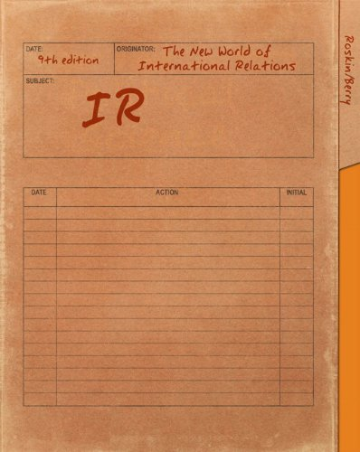 IR The New World of International Relations 9th 2012 (Revised) edition cover