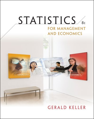 Statistics for Management and Economics  8th 2009 edition cover