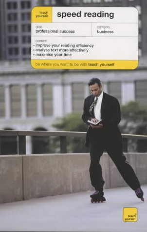 Teach Yourself Speed Reading (Teach Yourself Business & Professional) N/A edition cover