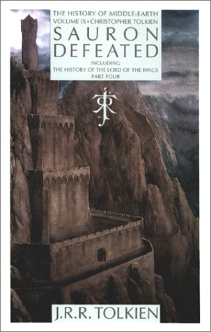Sauron Defeated The History of the Lord End of the Rings  1991 edition cover
