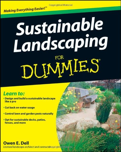 Sustainable Landscaping for Dummies   2009 edition cover