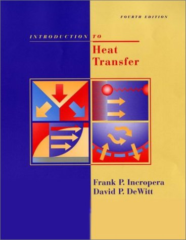 Introduction to Heat Transfer  4th 2002 (Revised) 9780471386490 Front Cover