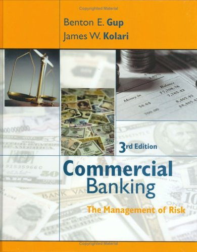 Commercial Banking The Management of Risk 3rd 2005 (Revised) 9780471469490 Front Cover