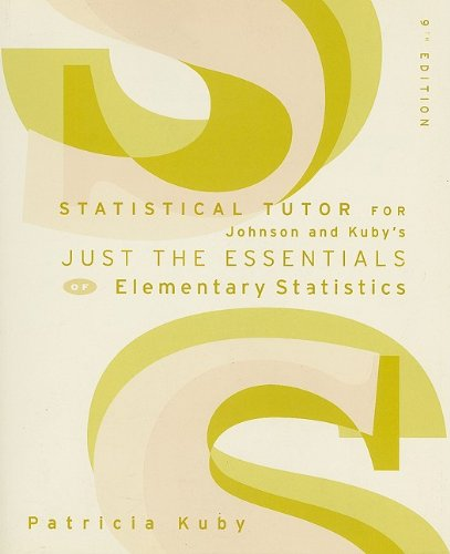 Elementary Statistics  9th 2005 9780534999490 Front Cover