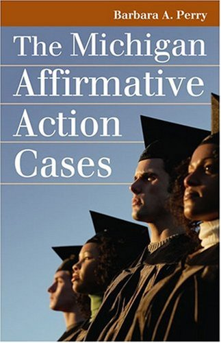 Michigan Affirmative Action Cases   2007 edition cover