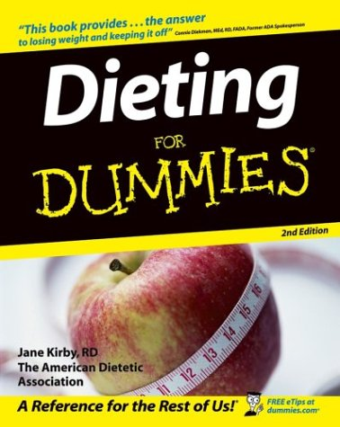 Dieting for Dummies�  2nd 2004 (Revised) edition cover