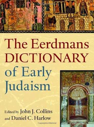 Eerdmans Dictionary of Early Judaism   2010 edition cover