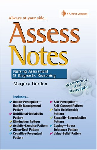 Assess Notes Assessment and Diagnostic Reasoning  2007 edition cover