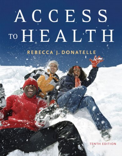 Access to Health  10th 2008 (Revised) edition cover