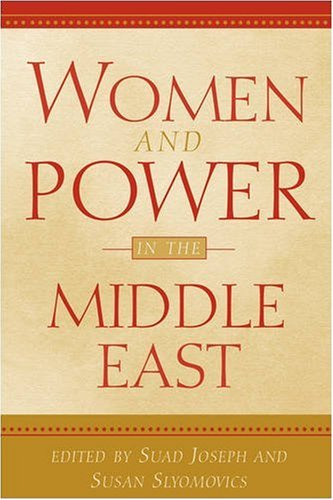 Women and Power in the Middle East   2001 edition cover