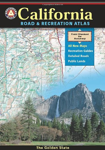 California Road and Recreation Atlas 2015  2015th 2015 edition cover