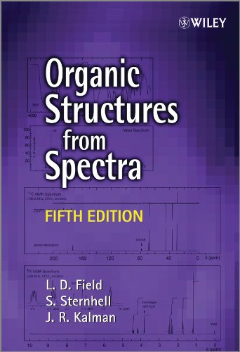 Organic Structures from Spectra  5th 2013 edition cover
