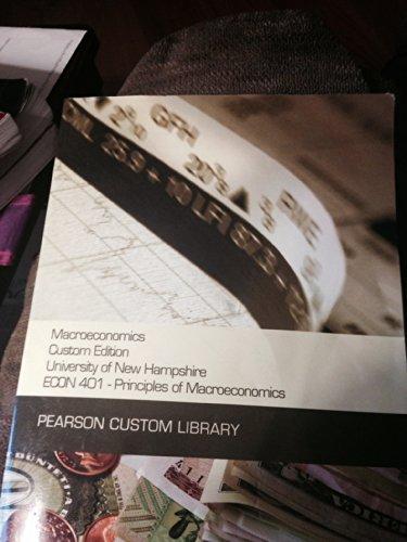 MACROECONOMICS >CUSTOM<                 N/A 9781269128490 Front Cover