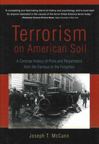Terrorism on American Soil A Concise History of Plots and Perpetrators from the Famous to the Forgotten  2006 edition cover