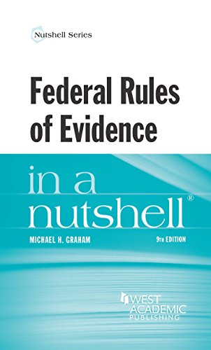 Federal Rules of Evidence in a Nutshell  9th 2015 edition cover