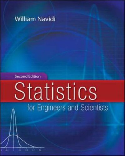 Statistics for Engineers and Scientists  2nd 2008 (Revised) 9780073309491 Front Cover