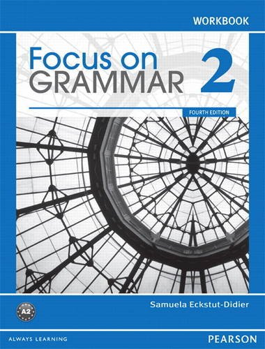 FOCUS ON GRAMMAR 2-WORKBOOK N/A edition cover