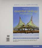 Campbell Essential Biology with Physiology, Books a la Carte Plus MasteringBiology with EText -- Access Card Package  5th 2016 edition cover