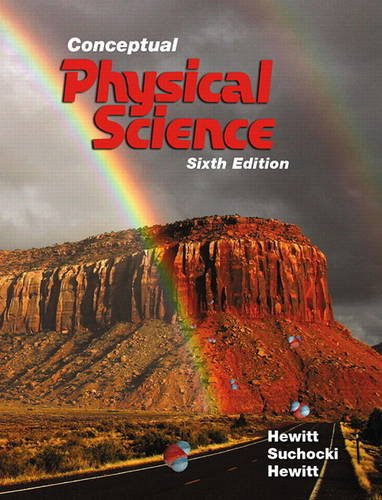 Conceptual Physical Science:   2016 9780134060491 Front Cover