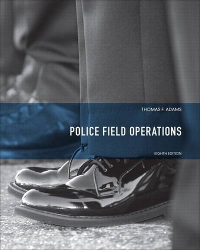 Police Field Operations  8th 2014 edition cover