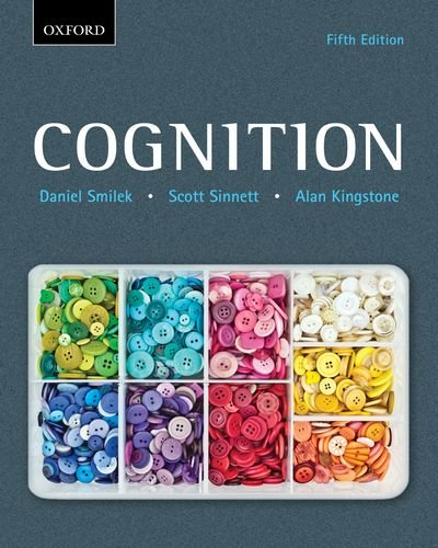 Cognition  5th 2013 9780195447491 Front Cover