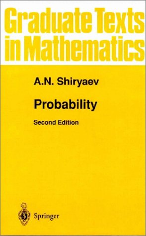 Probability  2nd 1996 (Revised) edition cover