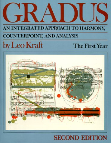 Gradus An Integrated Approach to Harmony, Counterpoint, and Analysis - The First Year 2nd 1987 9780393955491 Front Cover
