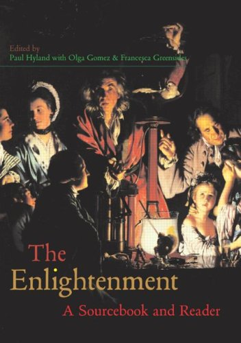 Enlightenment A Sourcebook and Reader  2003 edition cover