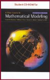 First Course in Mathematical Modeling  4th 2009 9780495561491 Front Cover