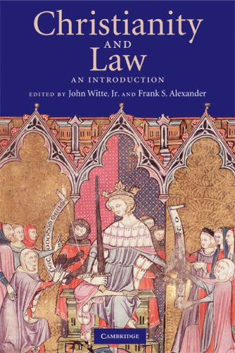 Christianity and Law An Introduction  2008 edition cover