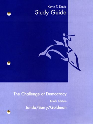 Challenge of Democracy  9th 2008 (Guide (Pupil's)) 9780618874491 Front Cover