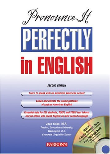 Pronounce It Perfectly in English  2nd 2005 edition cover