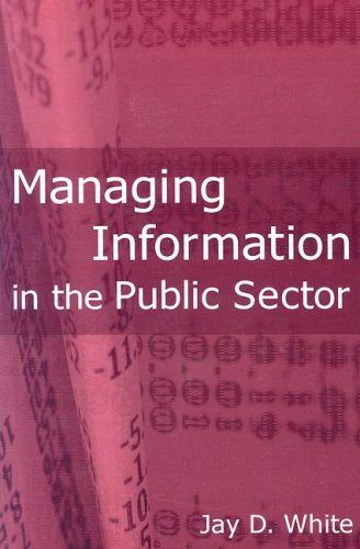 Managing Information in the Public Sector   2007 edition cover