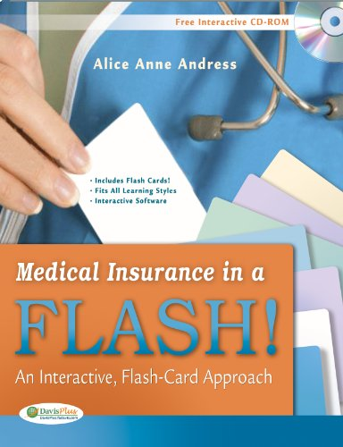 Medical Insurance in a Flash! An Interactive, Flash-Card Approach N/A edition cover
