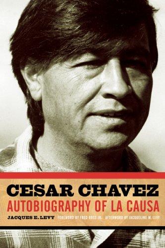 Cesar Chavez Autobiography of la Causa  2007 edition cover