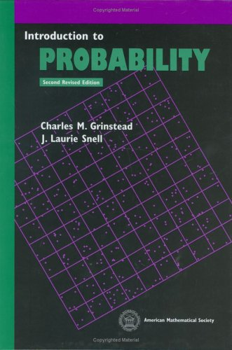 Introduction to Probability  2nd 1997 (Revised) 9780821807491 Front Cover