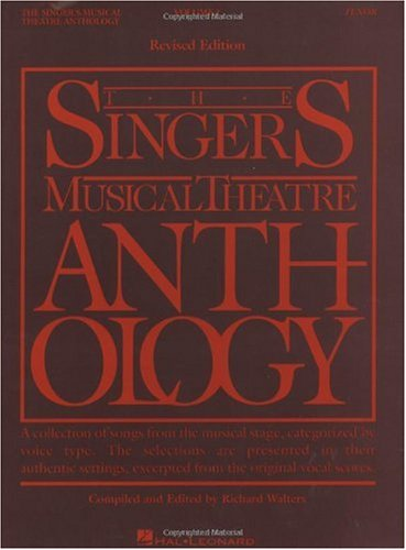 Singer's Musical Theatre Anthology  N/A 9780881885491 Front Cover