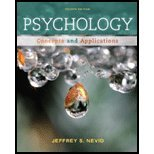 Psychology Concepts and Applications 4th 2013 edition cover