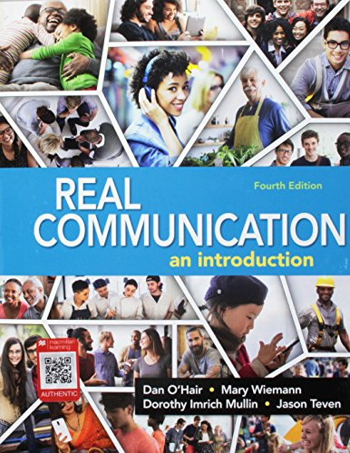 Real Communication: An Introduction  2017 9781319059491 Front Cover