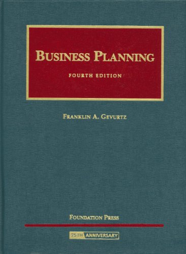 Business Planning  4th 2008 (Revised) edition cover